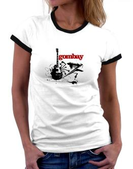 Gombay - Feel The Music Women Ringer T-Shirt