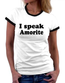 I Speak Amorite Women Ringer T-Shirt