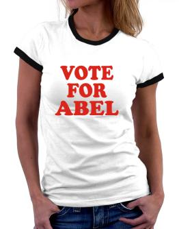 Vote For Abel Women Ringer T-Shirt