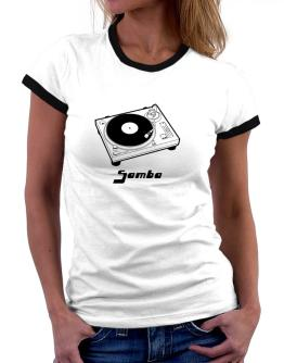 Retro Samba - Music Women Ringer T-Shirt