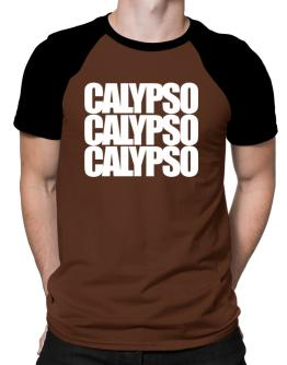 Three words Calypso Raglan T-Shirt