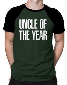 Auncle of the year Raglan T-Shirt