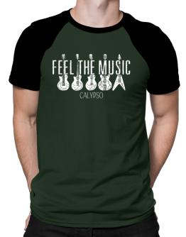 Feel the music Calypso 2 Raglan T-Shirt