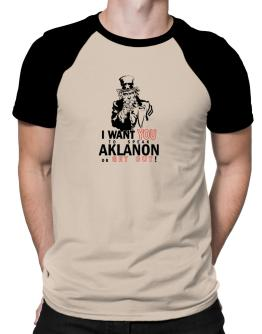 I Want You To Speak Aklanon Or Get Out! Raglan T-Shirt