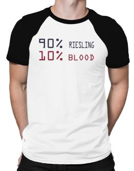 90% Riesling 10% Blood Raglan T-Shirt