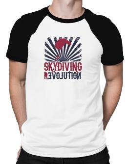 Skydiving Revolution Raglan T-Shirt