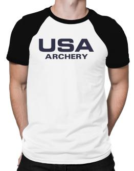 Usa Archery / Athletic America Raglan T-Shirt