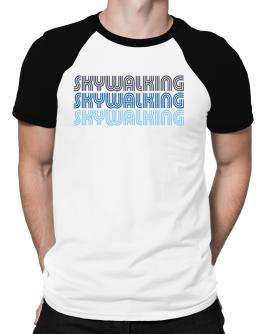 Skywalking Retro Color Raglan T-Shirt