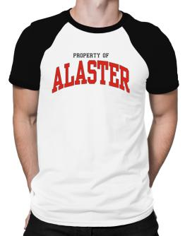 Property Of Alaster Raglan T-Shirt
