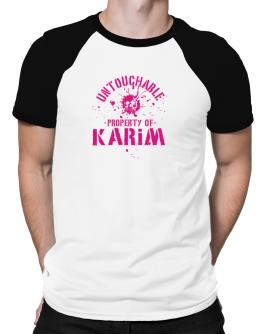 Untouchable : Property Of Karim Raglan T-Shirt