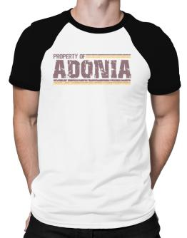 Property Of Adonia - Vintage Raglan T-Shirt