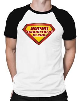 Super Accounting Clerk Raglan T-Shirt