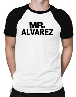 Mr. Alvarez Raglan T-Shirt