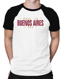 MADE IN Buenos Aires - ISO CODE Raglan T-Shirt