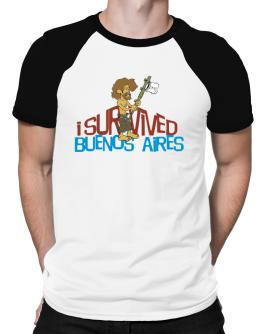 I Survived Buenos Aires Raglan T-Shirt