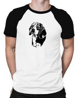 Beagle Face Special Graphic Raglan T-Shirt