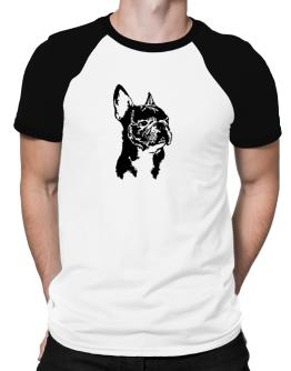 French Bulldog Face Special Graphic Raglan T-Shirt