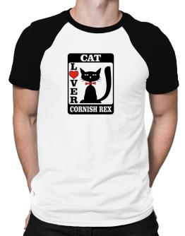 Cat Lover - Cornish Rex Raglan T-Shirt