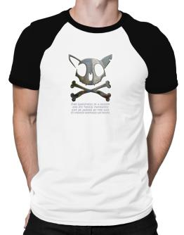 The Greatnes Of A Nation - American Wirehairs Raglan T-Shirt