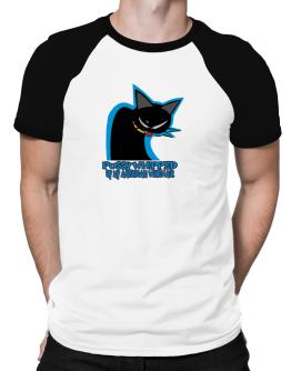 Pussy Whipped By My American Wirehair Raglan T-Shirt