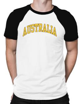 Australia - Simple Raglan T-Shirt