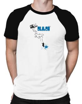 Glitch It Makes Me Feel Alive ! Raglan T-Shirt