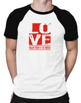 Love Anglican Mission In The Americas Raglan T-Shirt