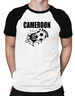 All Soccer Cameroon Raglan T-Shirt