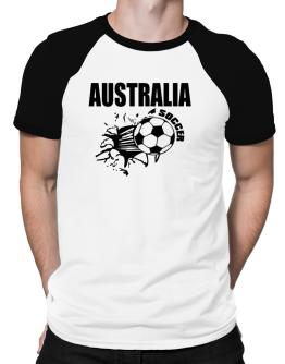 All Soccer Australia Raglan T-Shirt