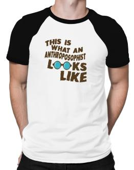 This Is What An Anthroposophist Looks Like Raglan T-Shirt