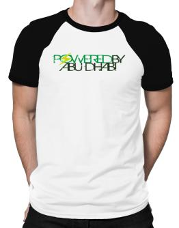 Powered By Abu Dhabi Raglan T-Shirt