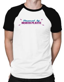 Powered By North Platte Raglan T-Shirt