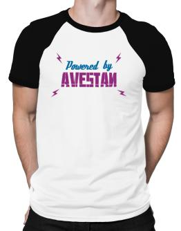 Powered By Avestan Raglan T-Shirt