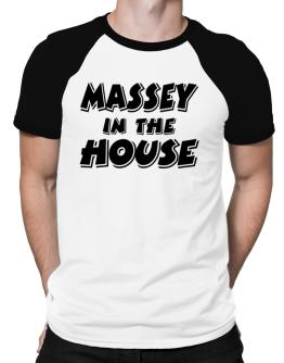 Massey In The House Raglan T-Shirt