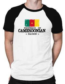 Property of Cameroonian Nation Raglan T-Shirt