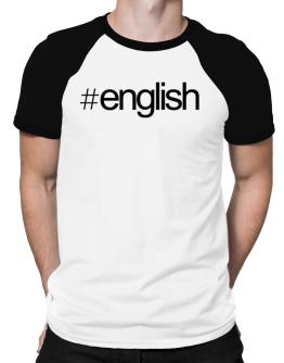 Hashtag English Raglan T-Shirt