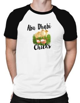 Abu Dhabi chicks Raglan T-Shirt