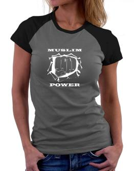Muslim Power Women Raglan T-Shirt