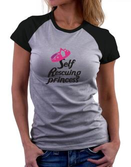 Self Rescuing Princess Women Raglan T-Shirt
