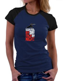 General Surgeon by day ninja by night Women Raglan T-Shirt