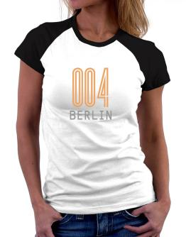 Iso Code Berlin - Retro Women Raglan T-Shirt