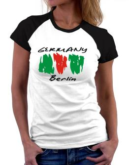 Brush Berlin Women Raglan T-Shirt