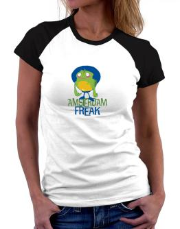 Amsterdam Freak Women Raglan T-Shirt