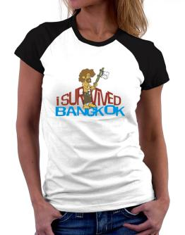 I Survived Bangkok Women Raglan T-Shirt