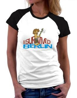 I Survived Berlin Women Raglan T-Shirt