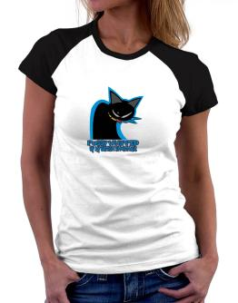 Pussy Whipped By My British Shorthair Women Raglan T-Shirt