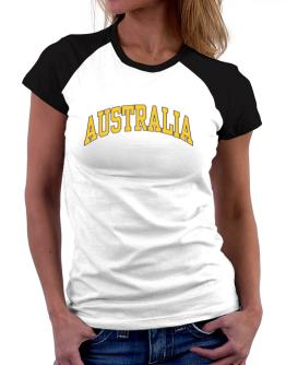 Australia - Simple Women Raglan T-Shirt