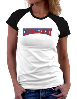 Classic Connecticut Women Raglan T-Shirt