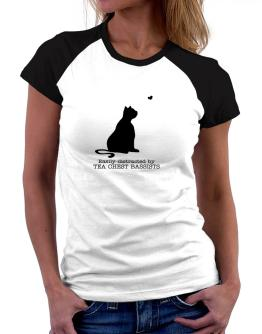 Easily Distracted By Tea Chest Bassists Women Raglan T-Shirt