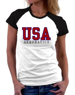 Usa Aerobatics athletic Women Raglan T-Shirt